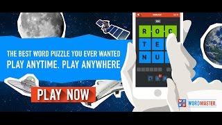 WORDMASTER iOS Gameplay Trailer