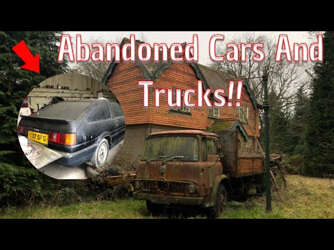 We Explore An Abandoned Yard Full With Classic Car's, Trucks, Vans!!