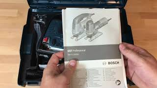 Unboxing Bosch Professional GST 160 CE