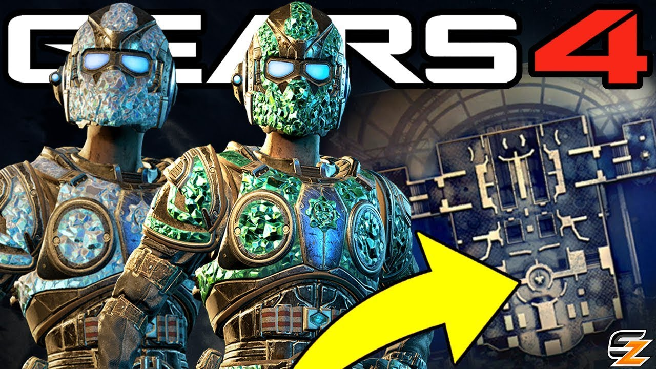 Gears of War 4 - Fastest Way to get Emerald Gear Character before Season 5 End! (Gears 4 Season 5)