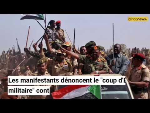 Un million de Soudanais protestent contre le conseil militaire