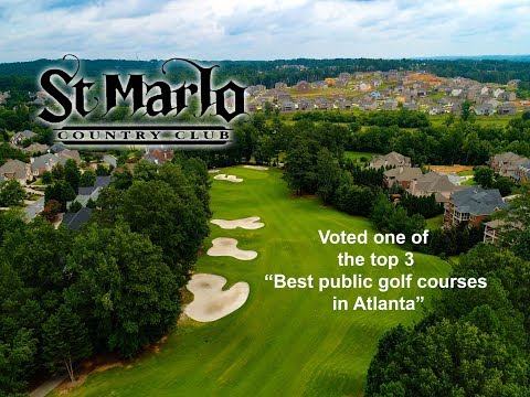 St Marlo Country Club Drone Video