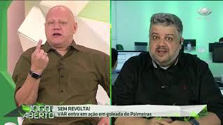 Héverton e Ronaldo batem boca por vitória palmeirense