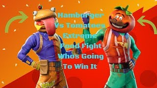 Fortnite Season 6 Day 5 Food Fight Begins And It Will Get Very Messy Xbox One Elite 🔴