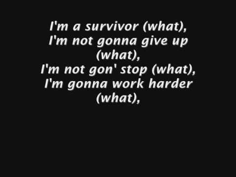 Destiny's Child - Survivor  Lyrics