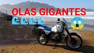 "OLAS Gigantes San Sebastian - Zarautz y BMW R100GS ""IL CAVALLINO RAMPANTE"""