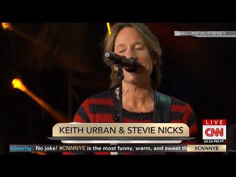 Keith Urban & Stevie Nicks - Stop Draggin' My Heart Around New Years Eve Music City Midnight 2019
