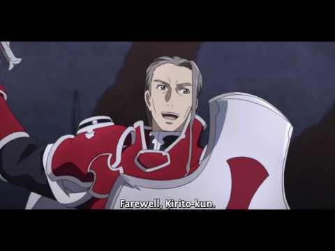 Sword Art Online: Kirito vs Heathcliff (Eng Sub)