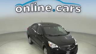 C14531TR Used 2017 Mitsubishi Mirage G4 ES FWD 4D Sedan Black Test Drive, Review, For Sale