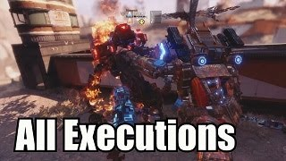 Titanfall 2: ALL Executions, Terminations (Monarch's Reign updated)