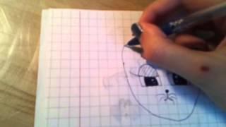Как научиться рисовать кота(В этом видео я хочу показать как можно рисовать мультяшного котика! Если вам не понравится, то я не обижусь!..., 2014-08-23T12:18:53.000Z)