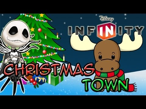 Disney Infinity: Toy Box Share - Christmas Town