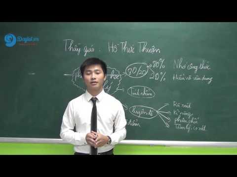 Phương pháp làm chủ môn Vật Lý lớp 12