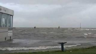 Orkan Tilo - Cuxhaven 1. Sturmflut 2007 -  German Weather-Movie