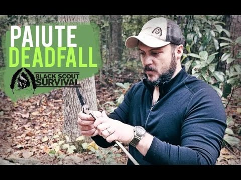 How to Make a Paiute Dead Fall Trap