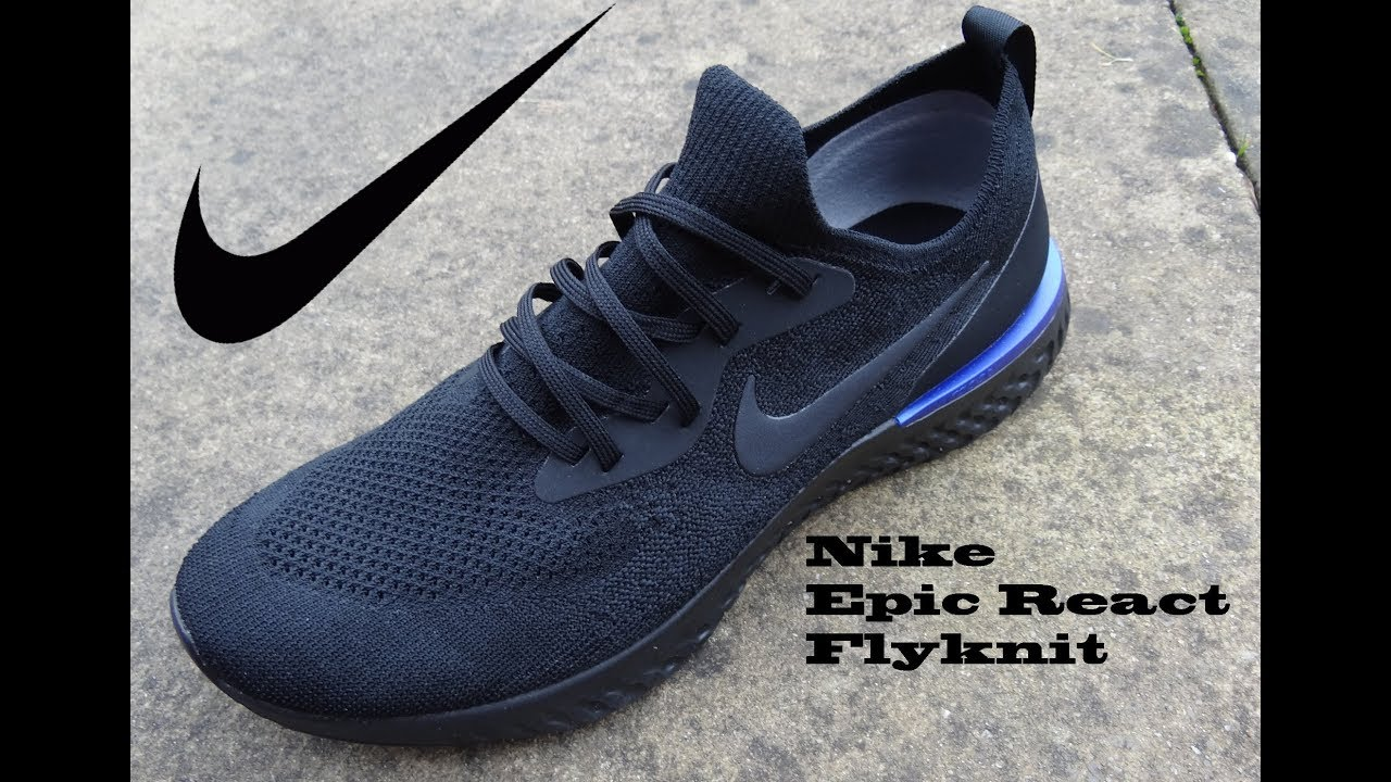 fd00ced86c24 Nike Epic React Flyknit - YouTube