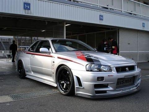 Nissan skyline r34 gt r z tune wow youtube for Garage nation nissan