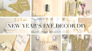 HOW TO: New Years Eve Party DIY Decor Thumbnail