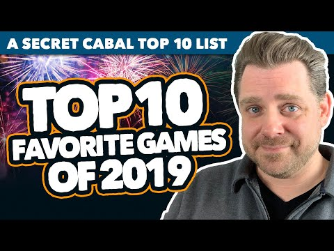 My Top 10 Favorite Board Games Of 2019
