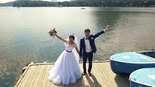 Скромная свадьба в Боровом (Аэросъемка)- 87072040446