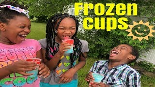 How to Make Layered Frozen Cups | Easy Summer Treats For Kids