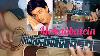 Cover melodi Mohabbatein ( lagu india terlaris )