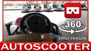 360° VR VIDEO - Autoscooter - Bumper Cars - Dodgem - Autodrom - Autobox - VIRTUAL REALITY 3D