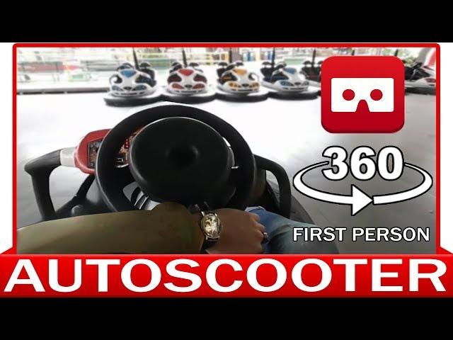 360° VR VIDEO - Autoscooter- Bumper Cars - Dodgem  - Autodrom - Autobox