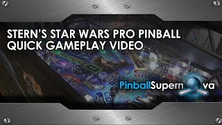 New Pinball Game Play #1 : Star Wars Pro Game Play