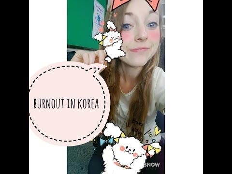 First semester of teaching English in korea