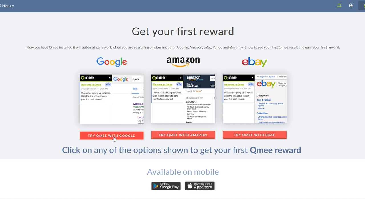 Earning your first Qmee reward - Qmee Blog