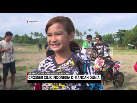Prestasi Crosser Cilik Perempuan Pertama Indonesia di Kancah Dunia