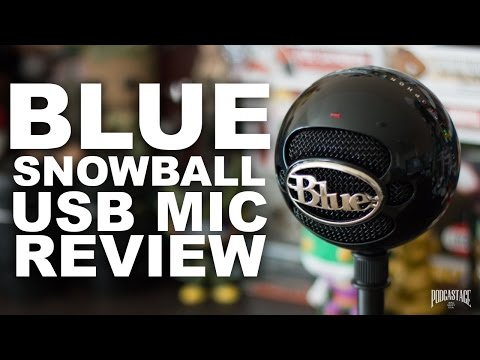 Blue Snowball USB Microphone Review / Test