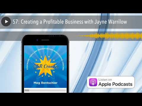 57: Creating a Profitable Business with Jayne Warrilow