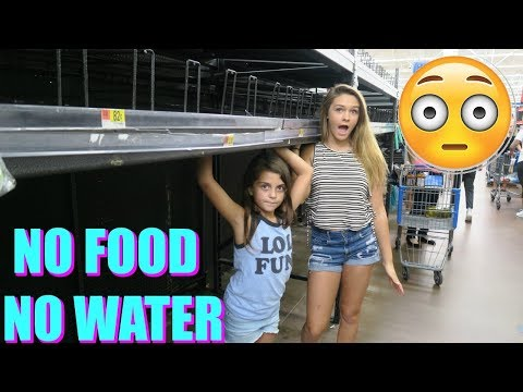 TRYING TO FIND FOOD FOR HURRICANE IRMA! BOARDING UP THE HOUSE! DAY 4