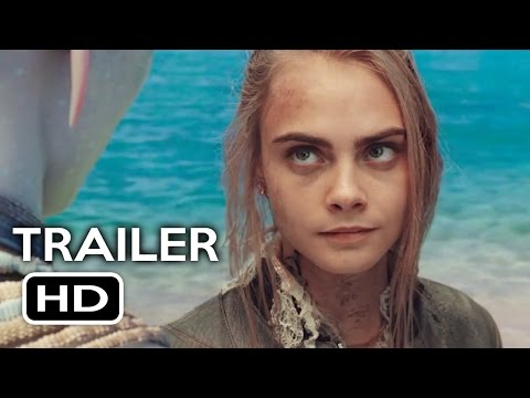 Valerian and the City of a Thousand Planets Trailer #2 (2017) Cara Delevingne Sci-Fi Movie HD