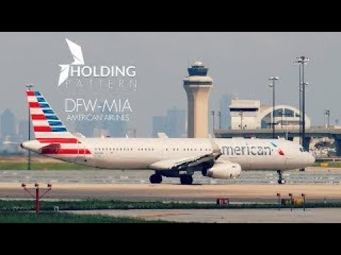 Holding Pattern Episode 1: Dallas to Miami A321S ᴴᴰ | American Airlines