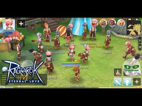 Ragnarok M: Eternal Love (SEA) (Android iOS APK) – MMORPG Gameplay (BETA TEST)