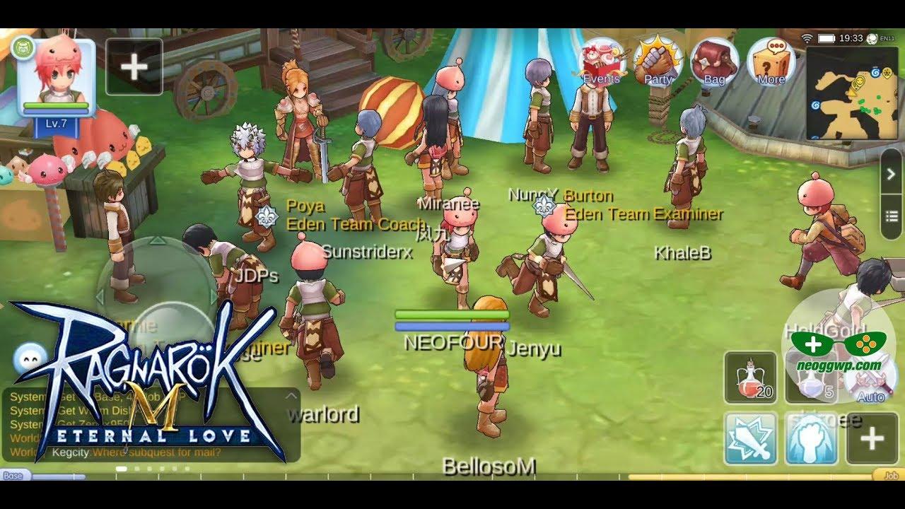 Ragnarok M Eternal Love Sea Android Ios Apk Mmorpg Gameplay Beta Test Youtube