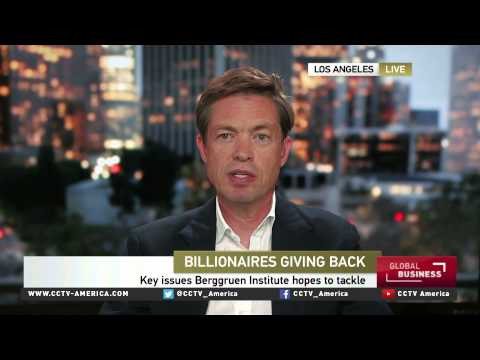 Nicolas Berggruen on 'Giving Pledge' and think tanks