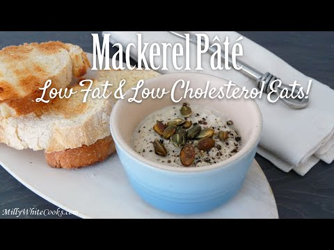 Smoked Mackerel Pâté Appetizer (Starter) | Easy Low Fat & Cholesterol Diet Fish Recipe | How to Make