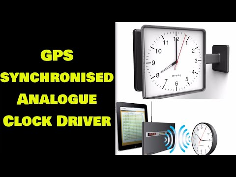 GPS Synchronised Analogue Clock Driver