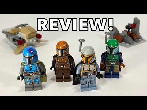 I GOT THE MANDALORIAN BATTLE PACK EARLY! - LEGO 75267 Review!