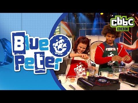 Pancake flip challenge on Blue Peter - CBBC