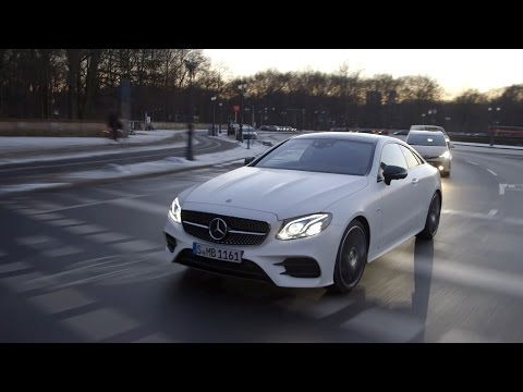 Mercedes-Benz E-Class Coupe with Susie Wolff at the 2017 Fashion Week Berlin