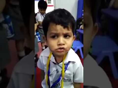 Gulabi Aankhein Jo Teri Dekhi Funny Comedy Small Baby Singing Whatsapp Funny Video