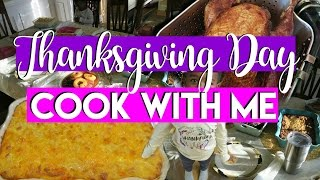 thanksgiving cooking vlog cook with me