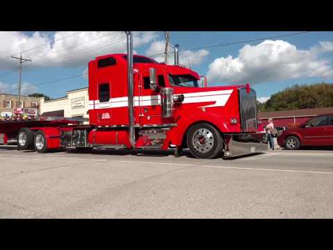 Big Iron truck parade in Mantorville, MN