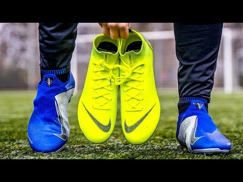 Nike PHANTOM VISION vs.MERCURIAL SUPERFLY Test