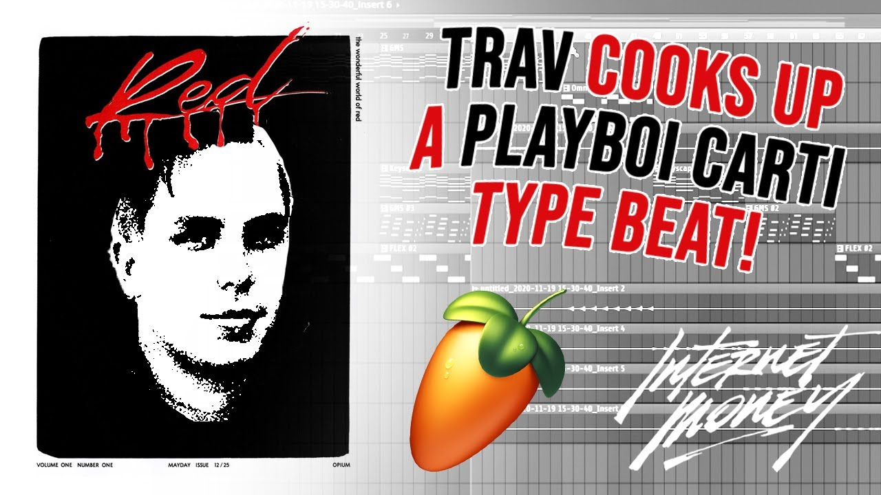COOKING UP A PLAYBOI CARTI TYPE BEAT FROM SCRATCH WITH TRAV | FL Studio Tutorial